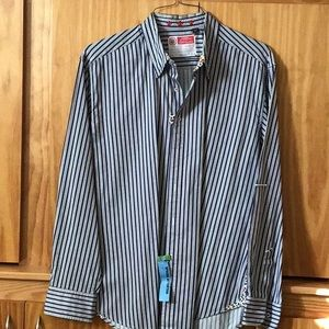Robert Graham long sleeve casual shirt size 2 XL